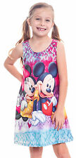 Girls Tie Dye Mickey and Minnie Mouse  Dress