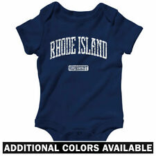 Rhode Island Represent One Piece - Baby Infant Creeper Romper NB-24M  Providence