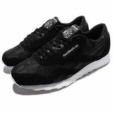 Reebok CL Nylon Arch Black White Suede Men Classic Shoes Retro Sneakers BD3077