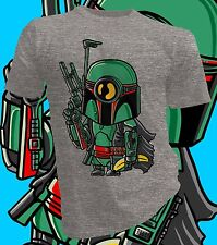Minion Boba Fett, Star Wars, T-Shirt Design