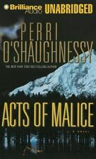 ACTS OF MALICE unabridged audio book on CD by PERRI O'SHAUGHNESSY