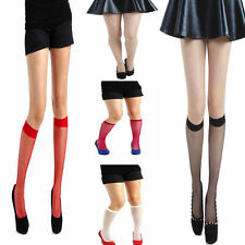 New Ladies Women Pamela Mann Fishnet Knee High Socks-Net Socks