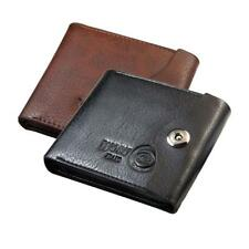 Bifold Wallet Men's PU Leather Credit/ID Card Holder Slim Coin Pocket Purse Gift