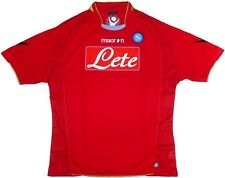 NAPOLI (XL, L, M ) 2009/10 SHORT/SLVE 3rd RED ITALY SOCCER FOOTBALL SHIRT JERSEY