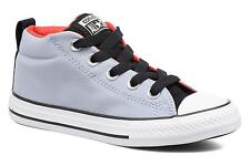 Kids's Converse Chuck Taylor All Star Street Mid Hi-top Trainers in Grey