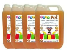 4 X 5L SANI PET Kennel Cattery Disinfectant, Cleaner, Deodoriser - MIXED SCENTS