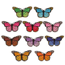 Butterflys Iron on Sew on Patch Embroidered  Fabric Badge Butterfly patches