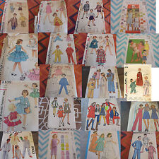 U PICK SEWING PATTERNS CHILDRENS VINTAGE ROCKABILLY BOHO MORE THAN PICTURED