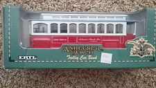 COLLECTIBLE ERTL ANHEUSER BUSCH TROLLEY CAR BANK 1/43 Scale, Diecast - NIB