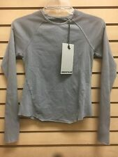 rick owens slab wje1910 frog blue sz xs long sleeve womens new 100% AUTHENTIC