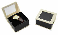 Luxury Dubai Series Watch / Bangle Cardboard Hinged Jewellery Gift Boxes