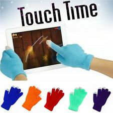 Men Magic Warm Winter Knit Touch Screen Gloves Texting Capacitive Smartphone
