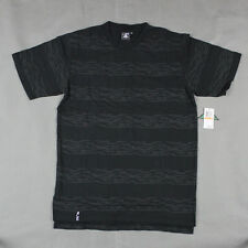 Lifted Research Group - LRG - The Savage Stripe T-shirt in Black NWT LRG