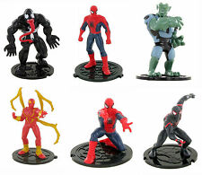 Comansi Ultimate Spiderman Superhero Toy Figures Cake Decorating Topper Official