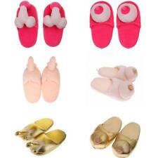1 Pair Willy Dicky Pennis Boob Slippers Adult Gift Hen Night Party Funny Gift
