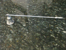 VINTAGE 1998 RAWCLIFFE PEWTER CANDLE SNUFFER/ FAIRY DESIGN/HARD TO FIND!
