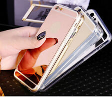 Ultra-thin Soft Silicone TPU Mirror Case Cover For Samsung Galaxy Smartphone LJ