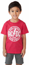 Toddler Baby Boys AC/DC T-Shirt - Short Sleeve Red