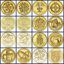 Large selection UK £1 one pound coins + Isle of Man, Jersey, Guernsey, Gibraltar