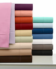 Elegant Bedding-Collection 1000 TC Egyptian Cotton UK Emperor Size All Solid