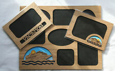 Vacation Cruise 5x7 11x14 Oak Matte/Insert for a Picture Frame - Choose Style