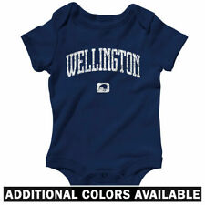 Wellington New Zealand One Piece - Baby Infant Creeper Romper NB-24M  Gift Lions