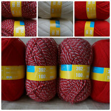 50%Wool 50%Acrylic Yarn Knitting Crochet Russia
