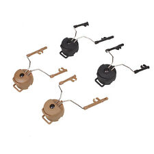 FAST Helmet Airsoft Peltor Comtac Ops Core Rail Adapter Headset Accessories