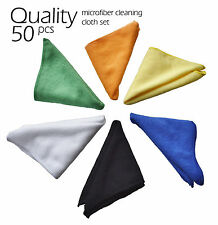 50pc microfiber cleaning cloth towel set cleaning cloth towel car detailing