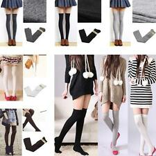 Sexy Soft 5 Colors Thigh High Socks Stockings Cotton Over The Knee