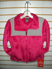 THE NORTH FACE GIRLS DENALI THERMAL FLEECE JACKET  -PASSION PINK- XL -NEW