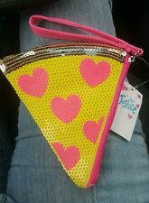 Justice embellished pepperoni pizza change purse  NWT (VERY LAST ONE)