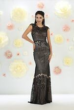 TheDressOutlet Long Mother of the Bride Dresses Formal Plus Size Evening Gown