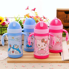 New Kid Hello Kitty Doraemon Stainless Steel Drink Containers Vacuum Cup Bottle