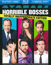 Horrible Bosses (Blu-ray/DVD, 2011, 3-Disc Set, Totally Inappropriate...
