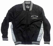 Chevrolet Camaro Men's Windbreaker Jacket with Embroidered Logos by JH Design