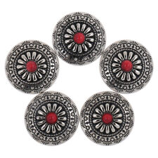 5pcs NO-SEW Metal Tack Snap Studs Buttons Snap Fasteners Leather Jeans Buttons