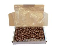Chocolate Peanuts Gift Box, Personalised Label, Birthday, Christmas & More