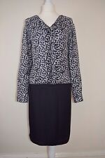 Collection By John Lewis Waterfall Monochrome Dress New RPR £69