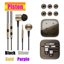 3.5mm Piston Stereo In Ear Earphone For Samsung S8/Plus A3/A5/A7(2017) New Lot