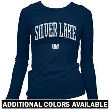 Silver Lake Los Angeles Women's Long Sleeve T-shirt - LS S-2X - Gift Indie Rock