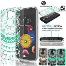 For LG Optimus Zone 3/LG K4/ Rebel LTE Shockproof PC Crystal TPU Hard Case Cover