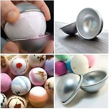 Bath Kitchen Pan Tin Baking 3D Aluminum Ball Bomb Mold Cake Pastry Mould