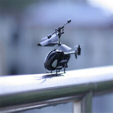 2.5CH Mini RC Helicopter Gyro Remote Control Radio Aircraft Micro Kids Toy Gifts