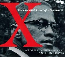 ANTHONY DAVIS - Life & Times of Malcolm X - CD ** Like New - Mint **