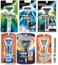 Gillette Razor Vector Mach3 Classic Turbo Sensitive Fusion Power Proglide Razors