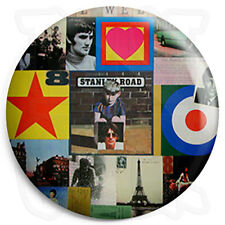 Paul Weller - Stanley Road - Mod Jam 25mm Button Badge with Fridge Magnet Option