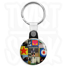 Paul Weller - Stanley Road - The Jam Mod 25mm Keyring with Zip Pull Option