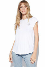 New THRILLS Womens Outline Palm Logo White