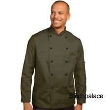 Denny's Technicolour Chef Jacket Olive Green & 10 other Colours Available XS-2XL